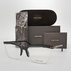 Tom Ford TF5540 001 Shiny Black 55mm Eyeglasses